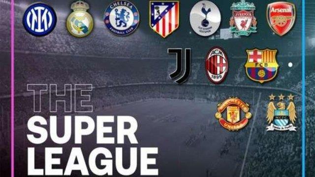 The first crack sound came from the European Super League!  Two English teams prepare to retreat