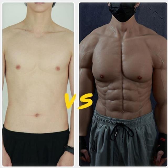 Erkeklere dev hizmet! Kusursuz kaslı vücut artık hayal değil, üstelik sporsuz, ameliyatsız