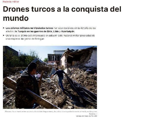 İspanyol gazetesi Periodico'dan Türk SİHA'larına övgü: Dünyayı fethediyor
