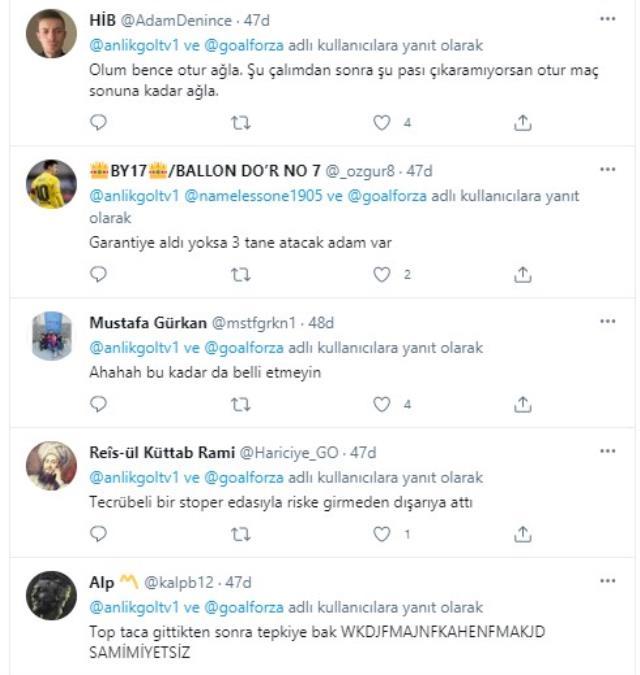 Müsait pozisyonda topu çok farklı şekilde dışarı gönderen Erdoğan Yeşilyurt sosyal medyayı salladı