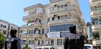 Kabahatler Kanunu: Alanya'da 10 kişinin testi pozitif çıktığı apartman karantinaya alındı