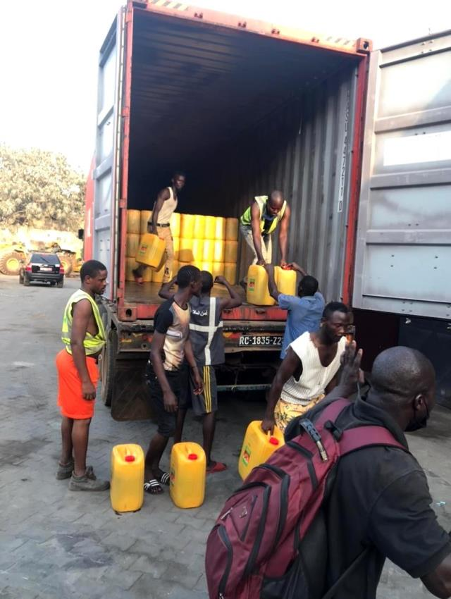 Albayrak Grubu, Gine'yi Ramazan'da da unutmadı