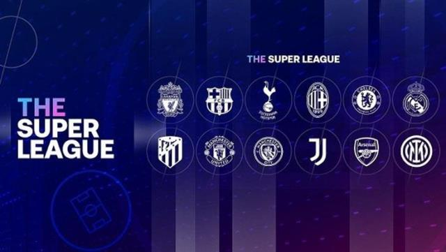 8 teams withdrew from the European Super League, 4 teams left that did not leave the front
