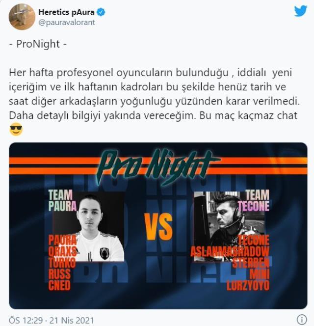 Başarılı Türk temsilcilerimizden pAura yeni içeriği ProNight'ı duyurdu!