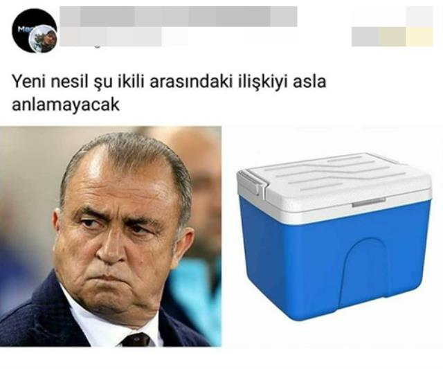 Fatih Terim's sitting in the ice bucket like the famous coach Bielsa was interpreted as 'the new totem'