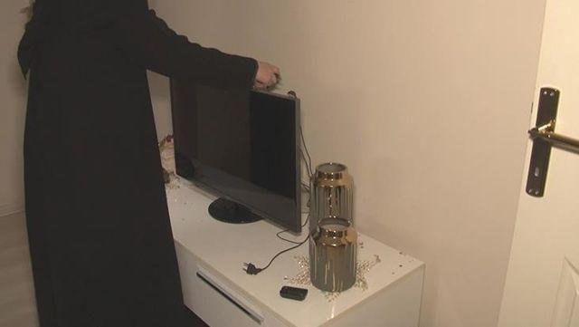 Elektrik voltajı aniden yükselince, 5 apartmandaki elektronik cihazlar bozuldu