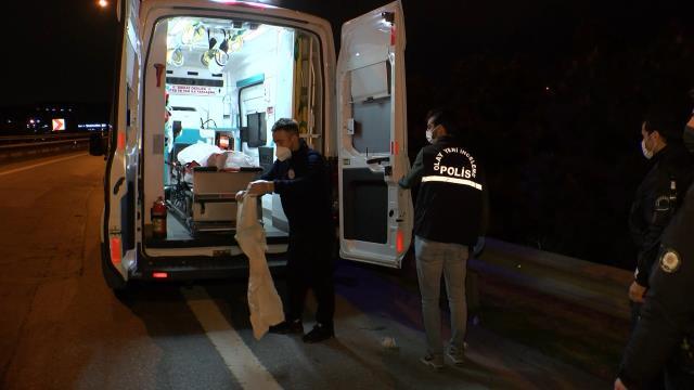 Sancaktepe TEM kenarında bir kişi öldürülmüş halde bulundu