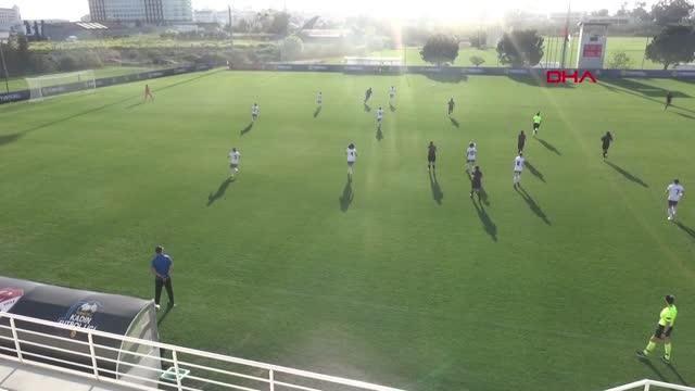 SPOR Kadın Futbol Ligi'nde D Grubu'nda ikinci maçlar tamamlandı