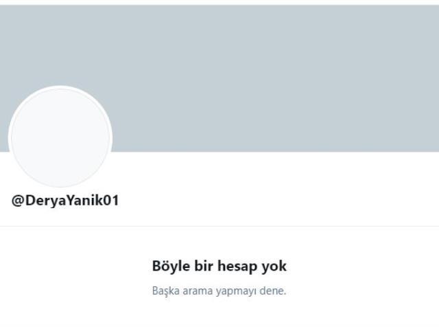 Aile ve Sosyal Hizmetler Bakanı Derya Yanık, Twitter hesabını kapattı