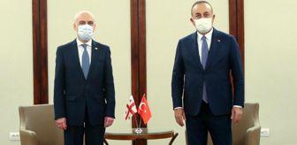 Klaus Iohannis: Bakan Çavuşoğlu, Gürcistan Dışişleri Bakanı Zalkaliani ile görüştü