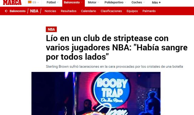 Two Rockets players who went to the strip club after a lost match were beaten to death