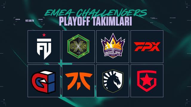 VCT Emea Challengers Playoff'larında eşleşmeler belirlendi