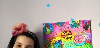 Coşkunöz: Son dakika haberleri! 23 Nisan'ı çocuklar, 'Hayalimizdeki çevre' temasıyla yaptığı resimlerle kutladı