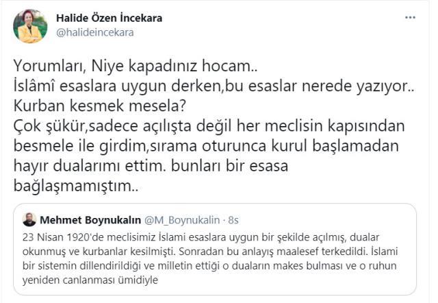 AK Partili isimden Mehmet Boynukalın'ın 23 Nisan paylaşımına tepki: Niye kapadınız hocam?