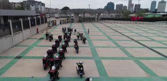 23 Nisan Ulusal Egemenlik Ve Çocuk Bayramı: BURSA MOTOSİKLETLİ POLİSLERDEN 23 NİSAN'A ÖZEL KORTEJ