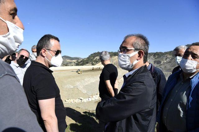 DSİ Genel Müdürü Yıldız, Adıyaman'da baraj inşaatlarını inceledi Açıklaması