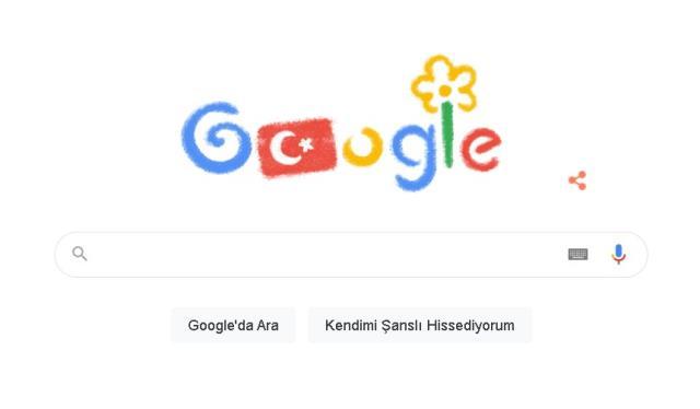 Google 23 Nisan doodle nedir? 23 Nisan 2021 Doodle ne oldu? 23 Nisan Doodle hakkında bilgiler!