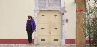 Aya Yorgi Kilisesi: Kısıtlamada Aya Yorgi Kilisesi'ne tırmanış