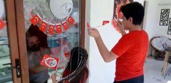 23 Nisan Ulusal Egemenlik Ve Çocuk Bayramı: Korona virüse yakalanan babaları ile 23 Nisan'ı böyle kutladılar