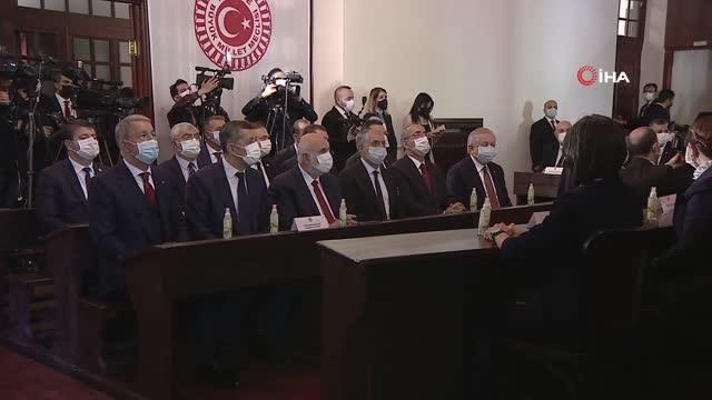 Son dakika haberi | TBMM Başkanı Şentop: 'Tarihimizin maküs zamanları olarak andığımız terör saldırıları, darbe ve vesayet girişimleri ile demokrasimize darbe vurulmak...