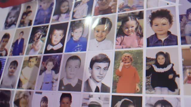 TUSAŞ? çalışanlarının çocukluk fotoğraflarıyla giydirilen HÜRKUŞ'un 23 Nisan özel uçuşu