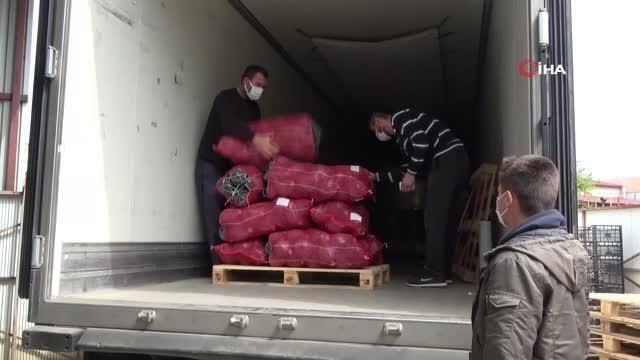 Bafra Ovası'ndan kışlık sebze ihracatı attı