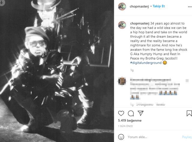 Dünyaca ünlü rapçi Shock G, otel odasında ölü bulundu