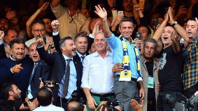 Announcing that the election will be at the stadium again, President Koç spoke cautiously about the candidacy