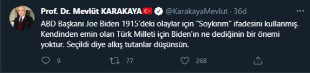 Son Dakika: ABD Başkanı Biden'ın skandal soykırım sözlerine Türkiye'den tepki yağıyor