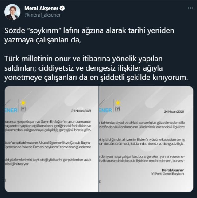 Son Dakika: ABD Başkanı Biden'ın skandal soykırım kararına Türkiye'den tepki yağıyor
