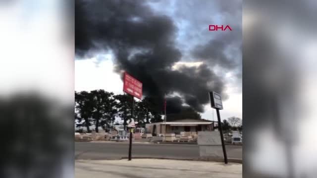 Son dakika haberleri! Çekirge üretim merkezinde çıkan yangın korkuttu