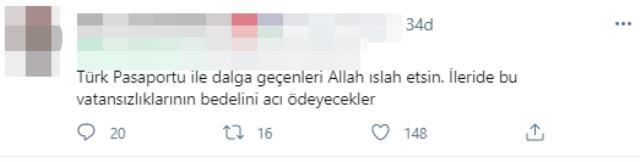 Türk pasaportunu aşağılayan bir video çekip, TikTok'ta paylaştılar