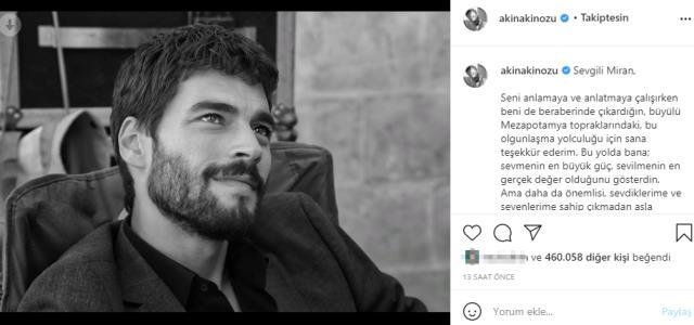 Hercai dizisi final yaptı! Akın Akınözü ve Ebru Şahin'den duygusal paylaşımlar geldi