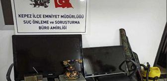 Kepez İlçe Emniyet Müdürlüğü: 7 evden hırsızlık yaptığı iddia edilen 2 şüpheliden biri tutuklandı