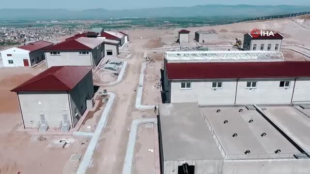 Sandıklı Belediyesi'nin dev su arıtma tesisi inşaatında sona yaklaşıldı