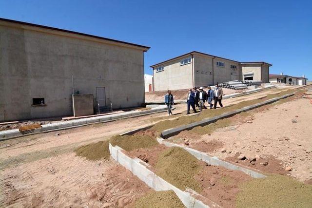 AFYONKARAHİSAR - Sandıklı'da bölgenin en büyük 'Su Arıtma Tesisi' tamamlanmak üzere