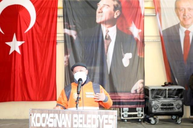 Başkan Çolakbayrakdar: 'Kocasinan Belediyesi işçi dostu belediyedir'