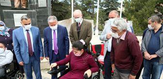 Mehmet Cabbar: Develi'de engelli 35 aileye bayram hediyesi
