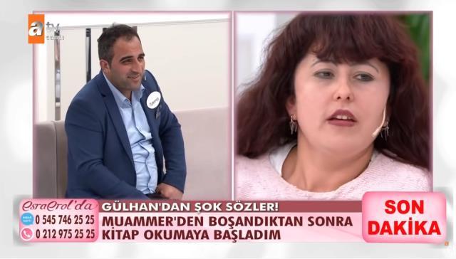 Eşi Muammer Güzel'e şiddet uyguladığı için günlerce konuşulan Gülhan Güzel, değişimiyle Esra Erol'a damga vurdu