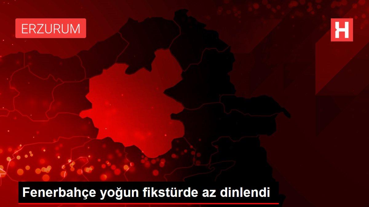 Fenerbahçe yoğun fikstürde az dinlendi