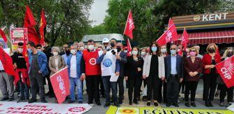 Eğitim Sen: Kayseri'de 1 Mayıs coşkusu