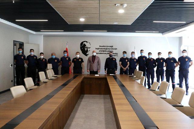 Son dakika haberleri | Manisa Büyükşehir İtfaiyesi gücüne güç kattı