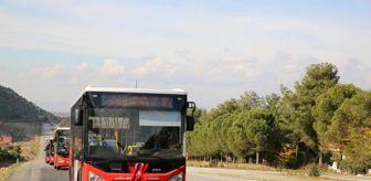 Sarıgöl: Manisa'da ALES'e girecek adaylara otobüs desteği