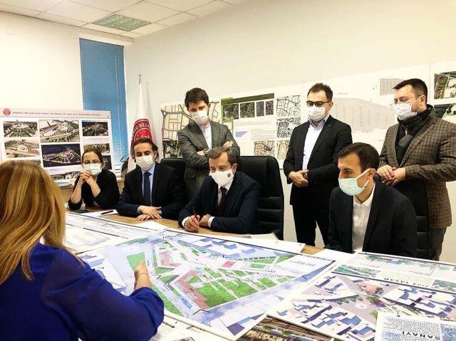 Gürsu Belediyesi, kentin kalbi ve simgesi olacak Kent Meydanı Projesi'ni hayata geçiriyor