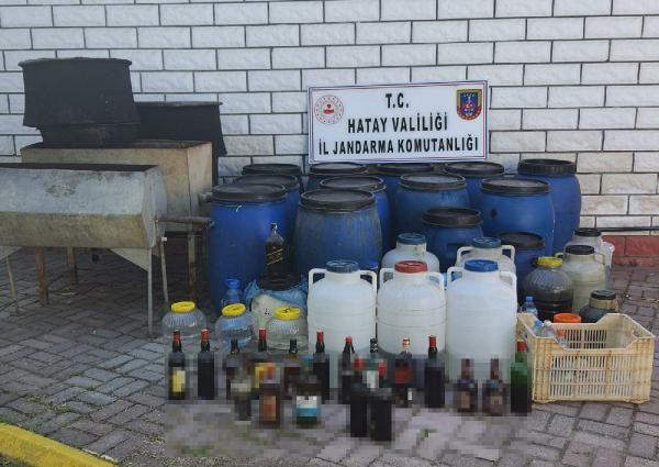Hatay'da sahte içki operasyonu: 4 gözaltı