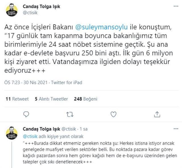 İçişleri Bakanı Soylu'dan alkol yasağına ilişkin açıklama: Tam kapanma boyunca devam edecek