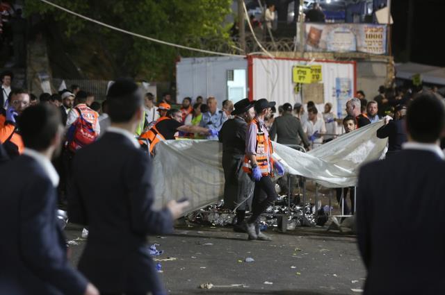 İsrail'de 44 kişinin öldüğü katliam gibi kutlamanın görüntüleri ortaya çıktı