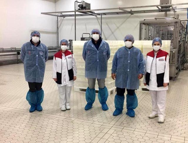 Tekirdağ'dan Çin'e ihracat olacak ürünler denetlendi