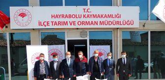 Tatarlı: Üreticilere tohum desteği