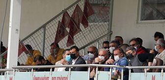 Abdullah Avcı: Abdullah Avcı, Ümraniyespor-Altay maçını takip etti